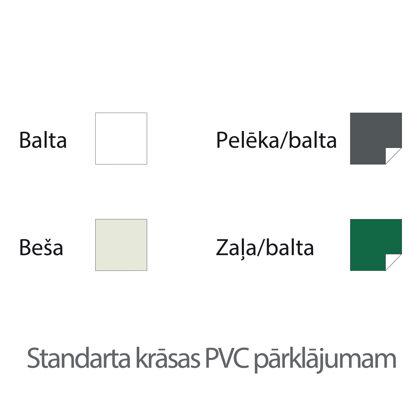 Standarta krāsas PVC pārklājumam