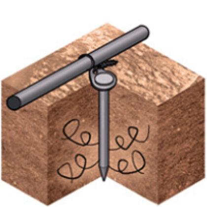 Enkurojums smagai akmeņainai augsnei
